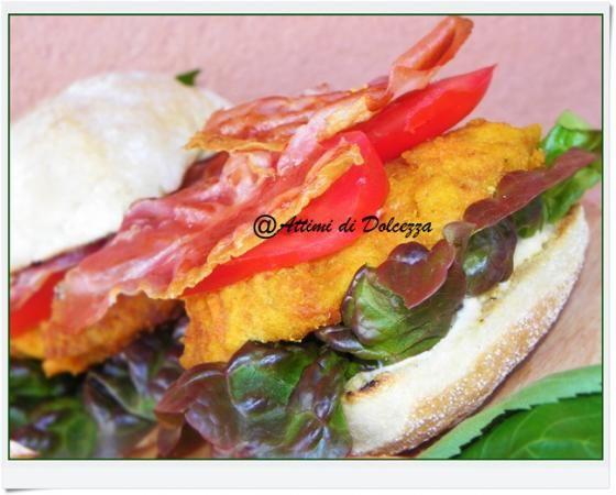 HAMBURGER DI CAROTE E FAGIOLI CON SALSA AL TONNO  #ricette #food #recipes