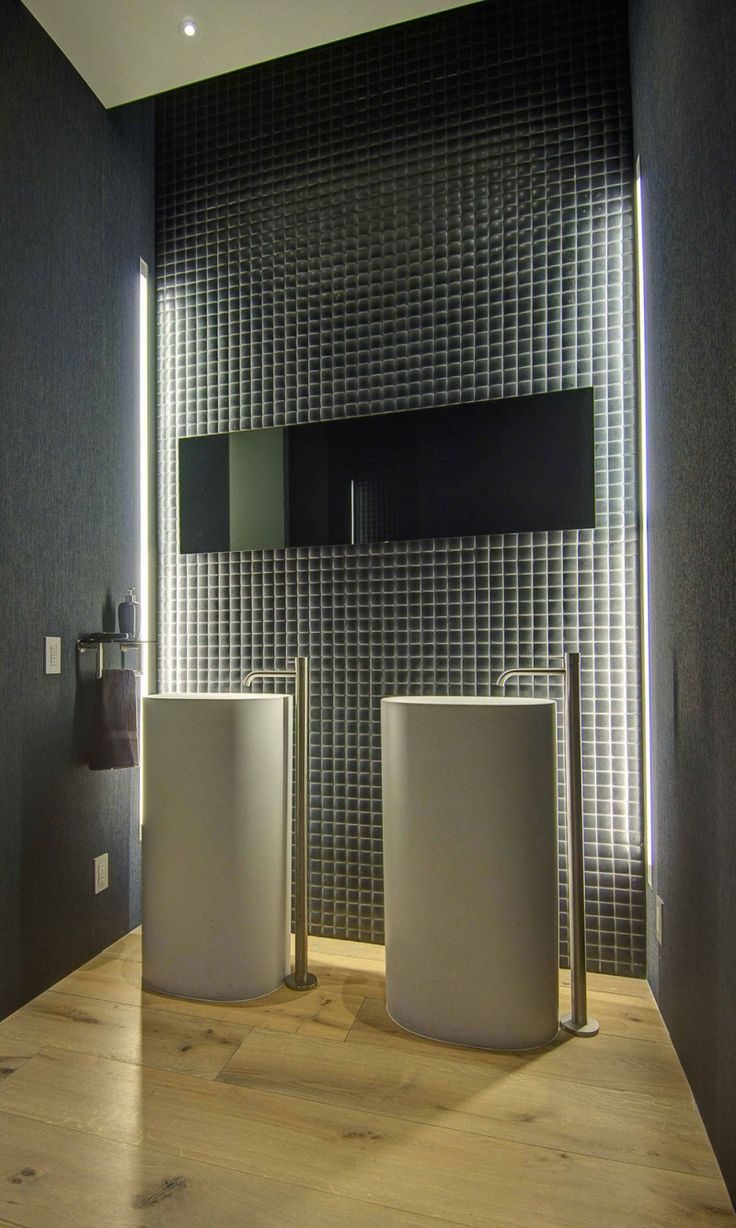 Shower drain furthermore stone look wall tile additionally modern - Public Hotel Bathroom