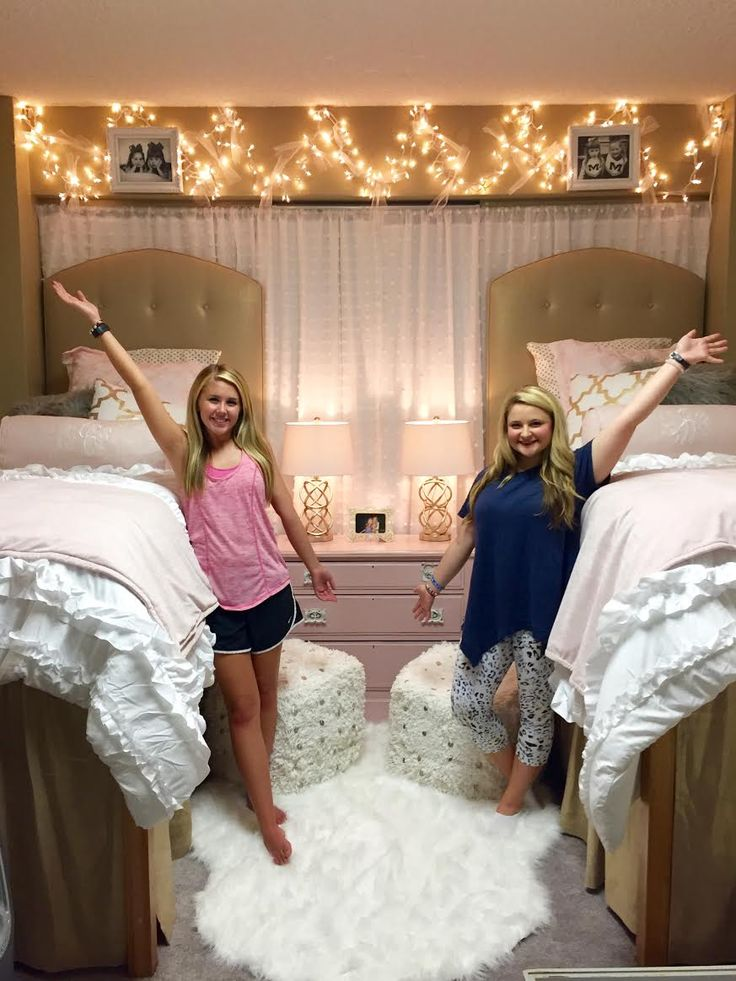 17 best ideas about dorm room beds on pinterest dorm for Fancy girl bedroom ideas