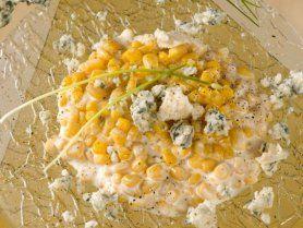 Rokfortos kukoricasaláta recept