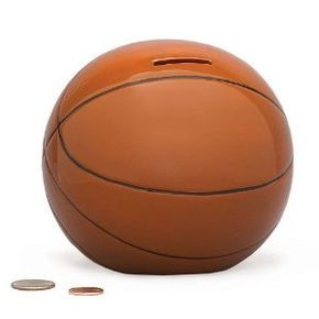 Basketball Sports Themed Ceramic Kids Piggy Bank Bedroom Decor (Toy) http://www.amazon.com/dp/B0012QRW7K/?tag=dismp4pla-20