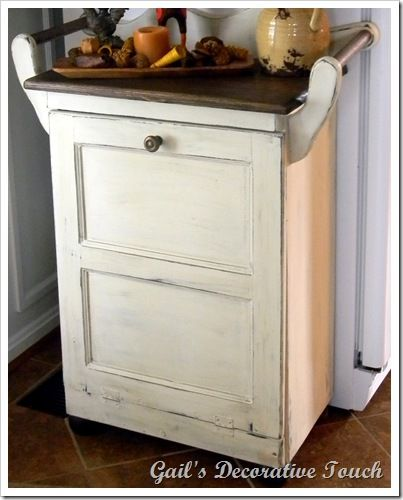 Best 25+ Trash can cabinet ideas on Pinterest | Hidden trash can ...