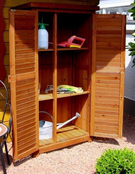 Gartenschrank Syltje Xl Aufbewahrungsschrank Wassserabweisend