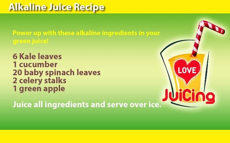 Alkaline Juice Recipe