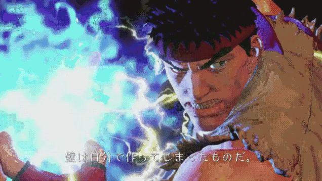 Ryu Special Attack.