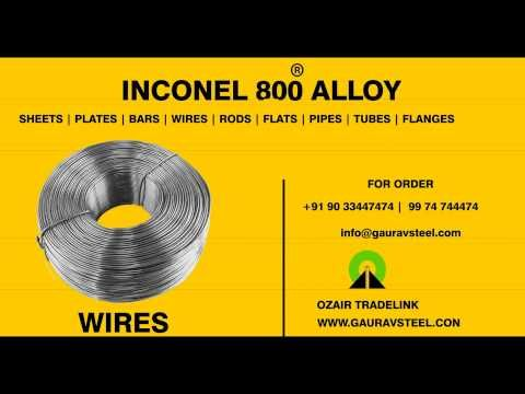 INCONEL ALLOY 625 WIRES AND RODS