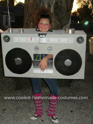 how to make a boombox prop