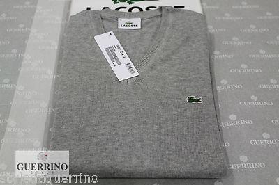 Lacoste by Guerrino Style UOMO*MAN  PREZZO / PRICE 69 €  http://www.ebay.it/itm/MAGLIONE-LACOSTE-UOMO-COTONE-GRIGIO-/130877339388?pt=Taglie_forti_ed_extra_lunghe_uomo==item6425a834ac