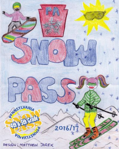 The Pennsylvania 4th & 5th Grade Snowpass booklet offers kids the privilege of skiing and boarding at Pennsylvania Ski Resorts for FREE this winter when accompanied by a paying adult. Not only that, it includes coupons to awesome local shops.  This season we hope that your family has an opportunity to enjoy as many of Pennsylvania's ski resorts as possible. The Snowpass will provide you with over 64 days of FREE skiing and boarding. https://skipa.com/deals/4th5th-grade-program