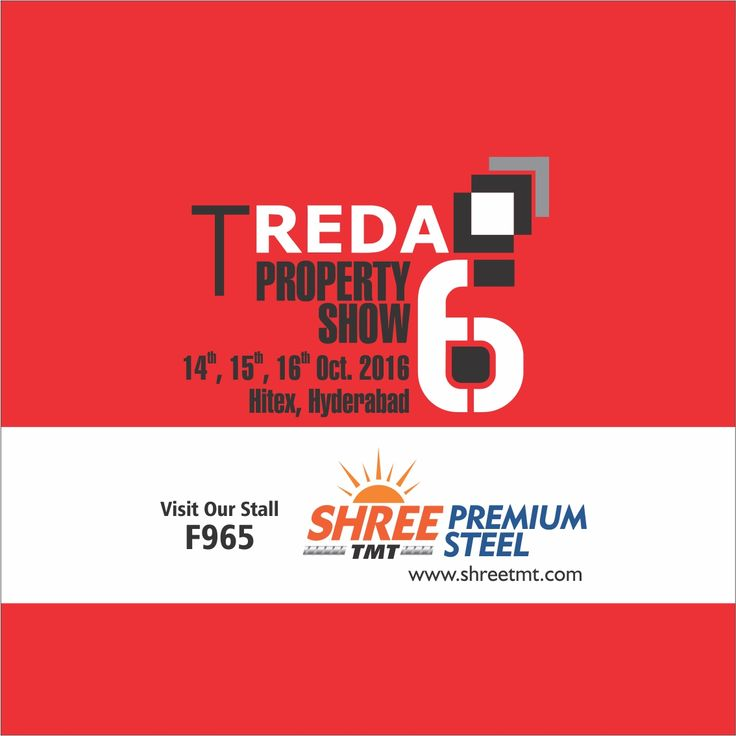 The TREDA Property Show is a platform for real estate developers and prospective property buyers. Know about the latest real estate trends in Telangana at the event. Don't forget to visit our stall when you get there!