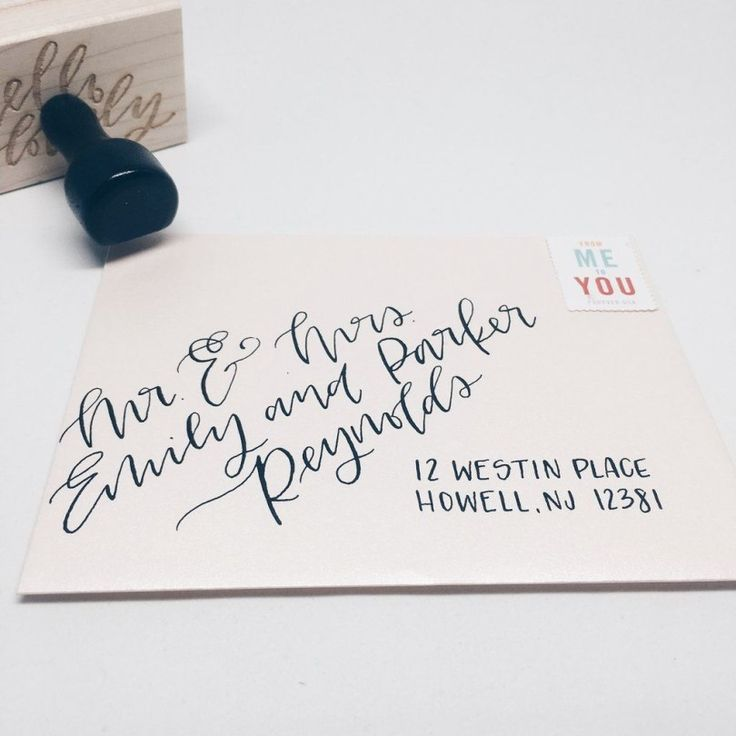 Handwritten Wedding Invitations Envelopes: 24+ Awesome Photo Of Handwritten Wedding Invitations