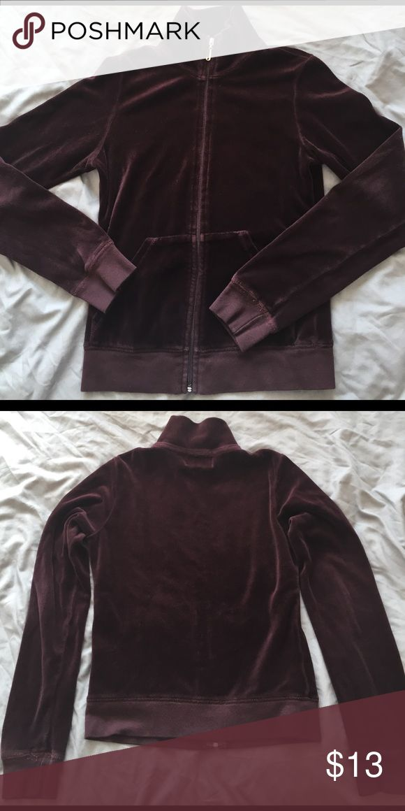 Juicy Couture brown velour jacket Juicy Couture brown velour jacket. Pre-loved but in good condition nonetheless! Juicy Couture Jackets & Coats