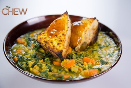 Daphne Oz's Red Lentil and Sweet Potato Stew recipe. thechew I am
