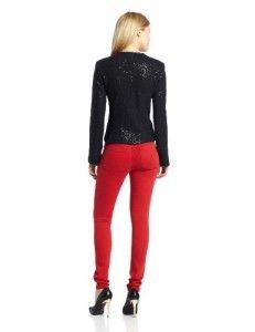 Wool jackets  Helene Berman Women's Short Sequin Jacket, Black, X-Small Discount !!!