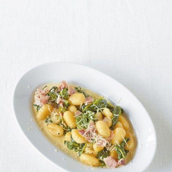 Schinken-Spinat-Gnocchi
