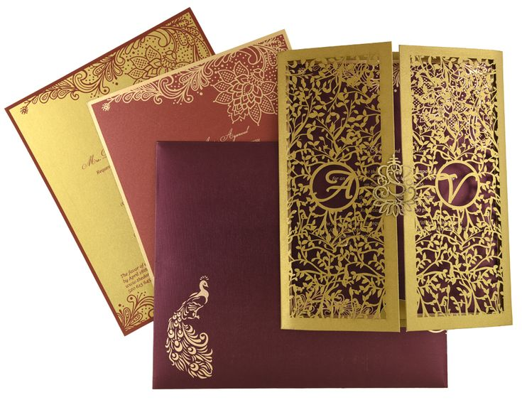 Best 25 Hindu wedding cards ideas – Hindu Wedding Invitation Cards Designs