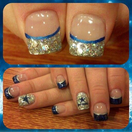 Dazzling Dallas Cowboy Nails