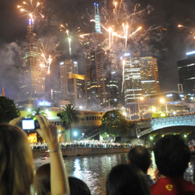 Melbourne: New Year's Eve 2011