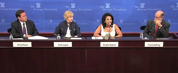 THIS IS GREAT: Brigitte Gabriel gives FANTASTIC answer to Muslim woman claiming all Muslims are portrayed badly. #Islam #Muslims
