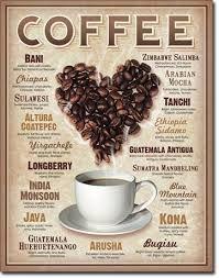 Resultado de imagem para cartel vintage cafe