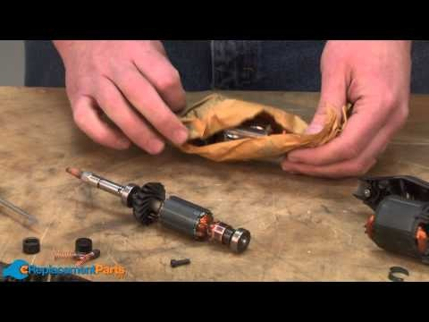This video tutorial will show you how to replace the armature on a Dremel 395 Moto-Tool in no time. www.ereplacementparts.com