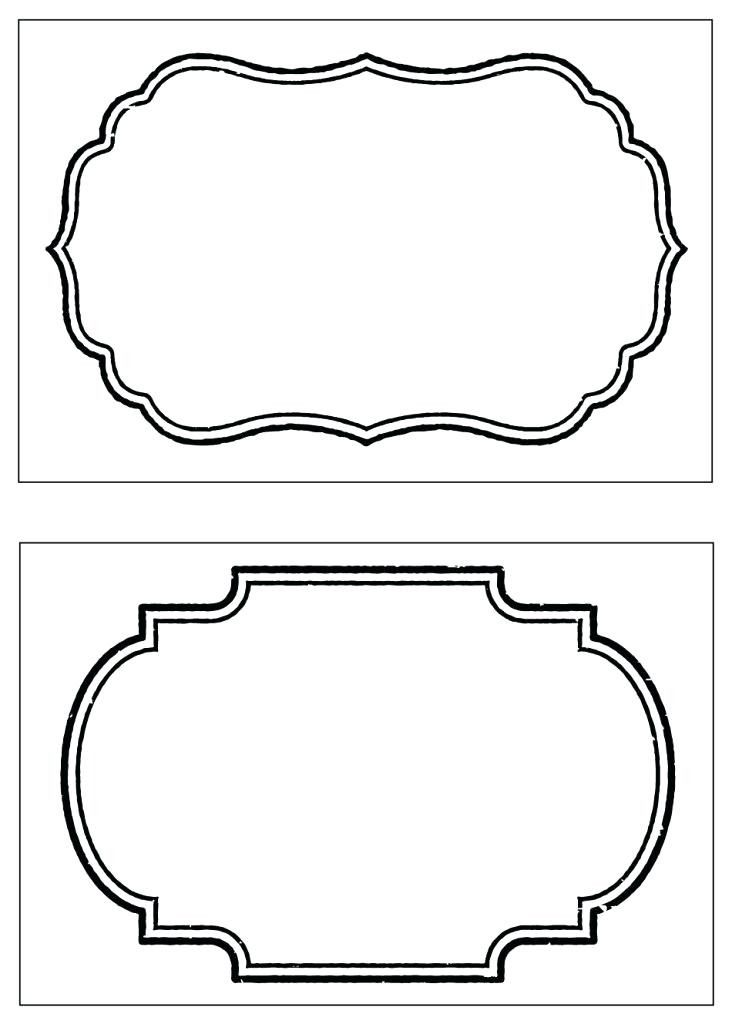 This is a picture of Crafty Free Printable Food Labels Templates