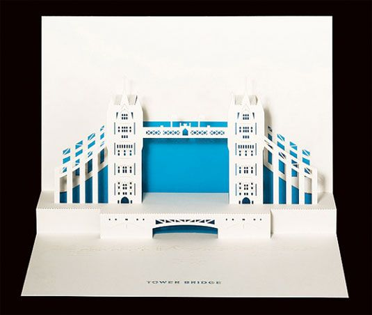 London landmarks reinvented as 3D paper art http://www.creativebloq.com/art/london-paper-3132239#
