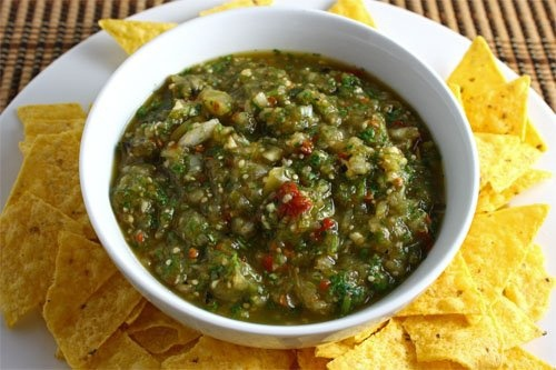 I love me some Salsa verde: Fun Recipes, Lime Juice, Salsa Verde, Mexican Food, Cooking, Favorite Recipes, Dips