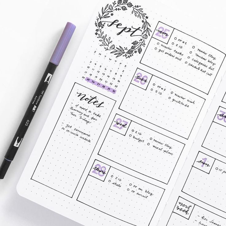 25 + ›37+ Easy Bullet Journal-Ideen, mit denen Sie Ihre ehrgeizigen Ziele gut organisieren und beschleunigen können