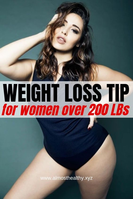 How to lose weight when you are over 200lbs. Advic…