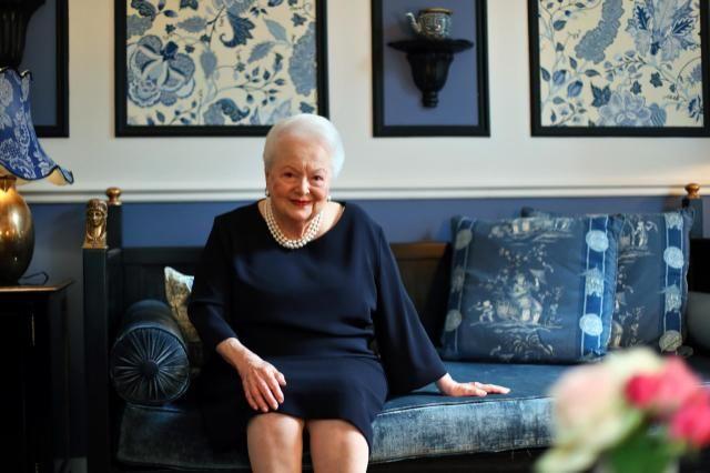 Olivia De Havilland at age 100, on July 01, 2016.