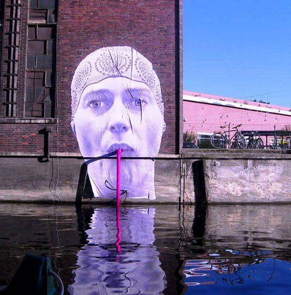 Seni Jalanan Lukisan Mural di Kota Berlin, Jerman 1