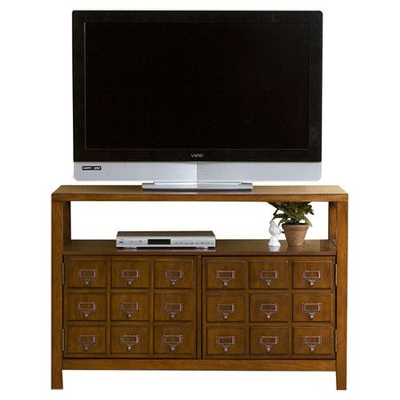"Found it at Wayfair - Giles 42"" TV Stand in Mahogany $261 Wayfair"