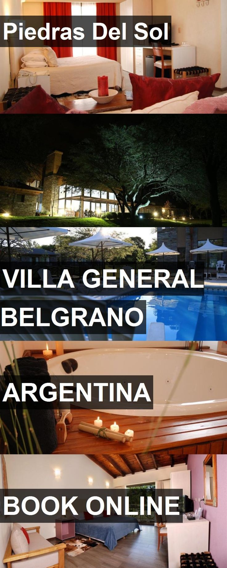 Hotel Piedras Del Sol in Villa General Belgrano, Argentina. For more information, photos, reviews and best prices please follow the link. #Argentina #VillaGeneralBelgrano #travel #vacation #hotel