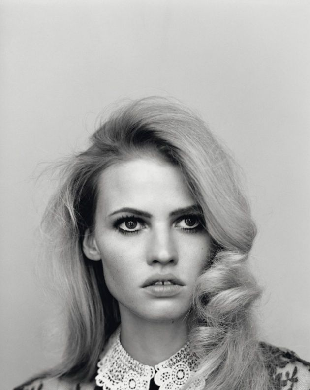 Lara Stone by Alasdair McLellan for Self Service S/S 2011. This editorial is unreal.