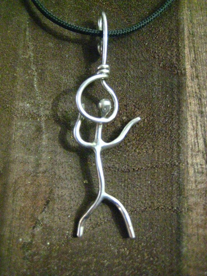 - the creative act - ''Απονενοημένο διάβημα '',  sterling silver
