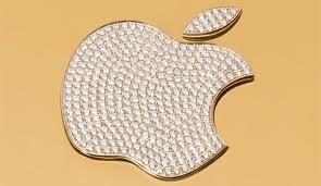 Apple Golden Color Logo
