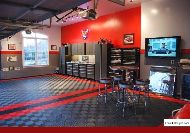 Garage Shop Ideas and Garage Workshop Layout Tips 34597302
