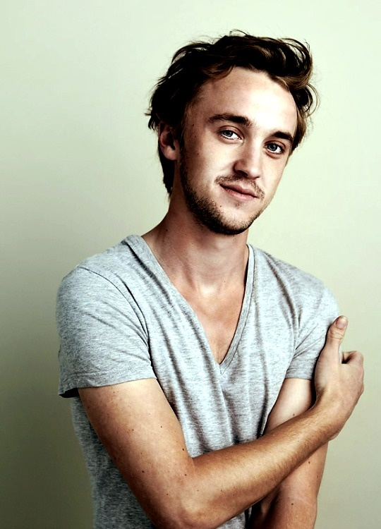 Tom Felton.. 3 million points for Slytherin!