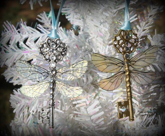 Although the soaring keys were impossible to catch in Harry Potter and the Sorcerer's Stone, you can easily purchase these Winged Keys Ornaments for your Christmas tree.