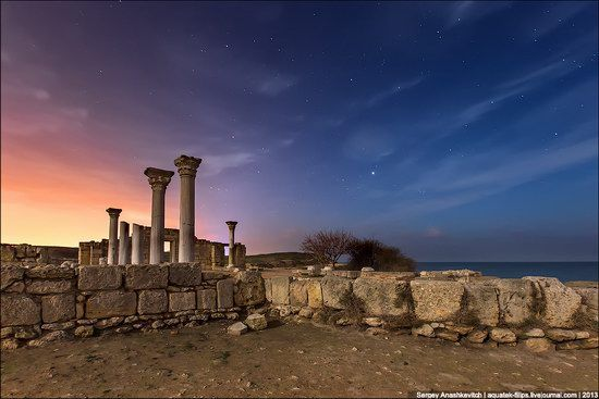 For two thousand years Chersonese was a major political, economic and cultural center of the northern Black Sea region. At present, the ruins of the city are located in Gagarin district of Sevastopol city, Ukraine
