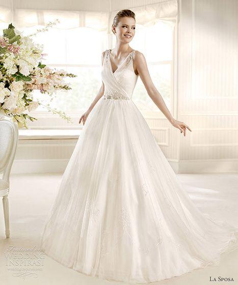 Csodaszép, lenyűgöző menyasszonyi ruhák alkotják a La Sposa 2013-as kollekcióját. Könnyed és elbűvölő valamennyi darab.   Induljon hát a hétvége eme varázslatos esküvői ruhákkal!  ...