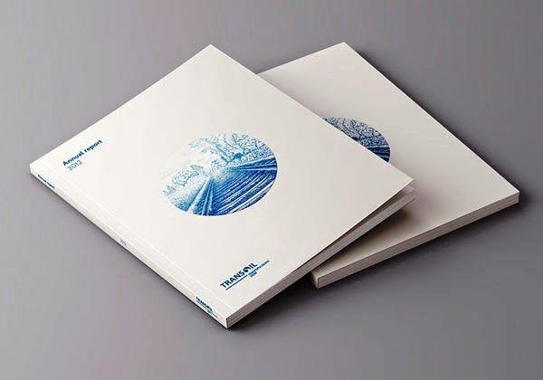 Contoh Desain Gambar Buku Laporan Tahunan Annual report and corporate brochure for Transoil LLC oleh Alexander Zhestkov
