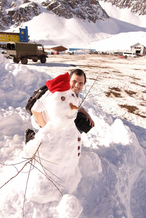 Snowman - Portillo - Chile