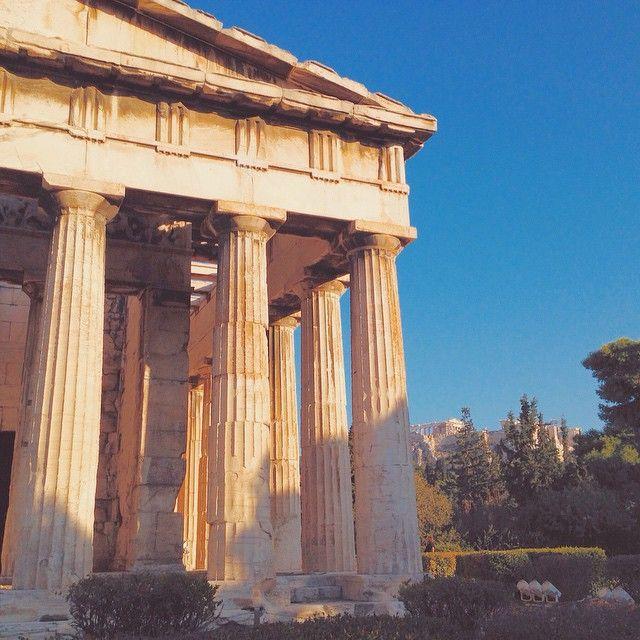 #Temple of #Hephaestus #Athens  Photo credits: @aquamarineru