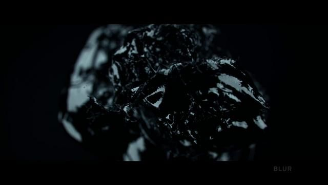 """Girl with the Dragon Tattoo"" Title Sequence by Blur by Motionographer. Reproduced with permission from Blur"