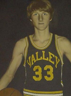 """Larry """"Hick From French Lick"""" Bird ... Springs Valley High School, French Lick, IN."""