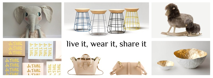 Be Original. Live it. Wear it. Share it.   A global design destination and lifestyle store.  Where beautiful pieces are a daily affair.