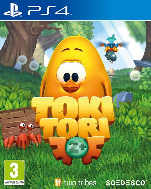 Five Ancient Frogs, scattered across the countryside, send a telepathic message to Toki Tori. It's hard to see how this young chicken could help them destroy the floating crystal.  Publisher: Soedesco Developer: Two Tribes Genre: Action/Adventure Platform: PC, PS4 Release Date: 29/01/2016 #videogames #Action #Adventure #PS4 #Soedesco #Two_Tribes