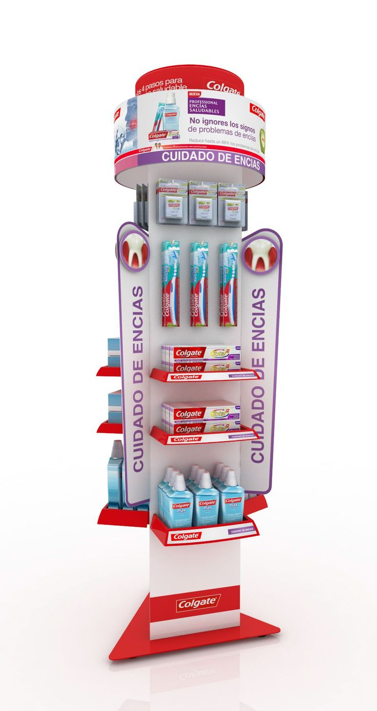 Colgate 3way Droguerias FloorDisplay on Behance